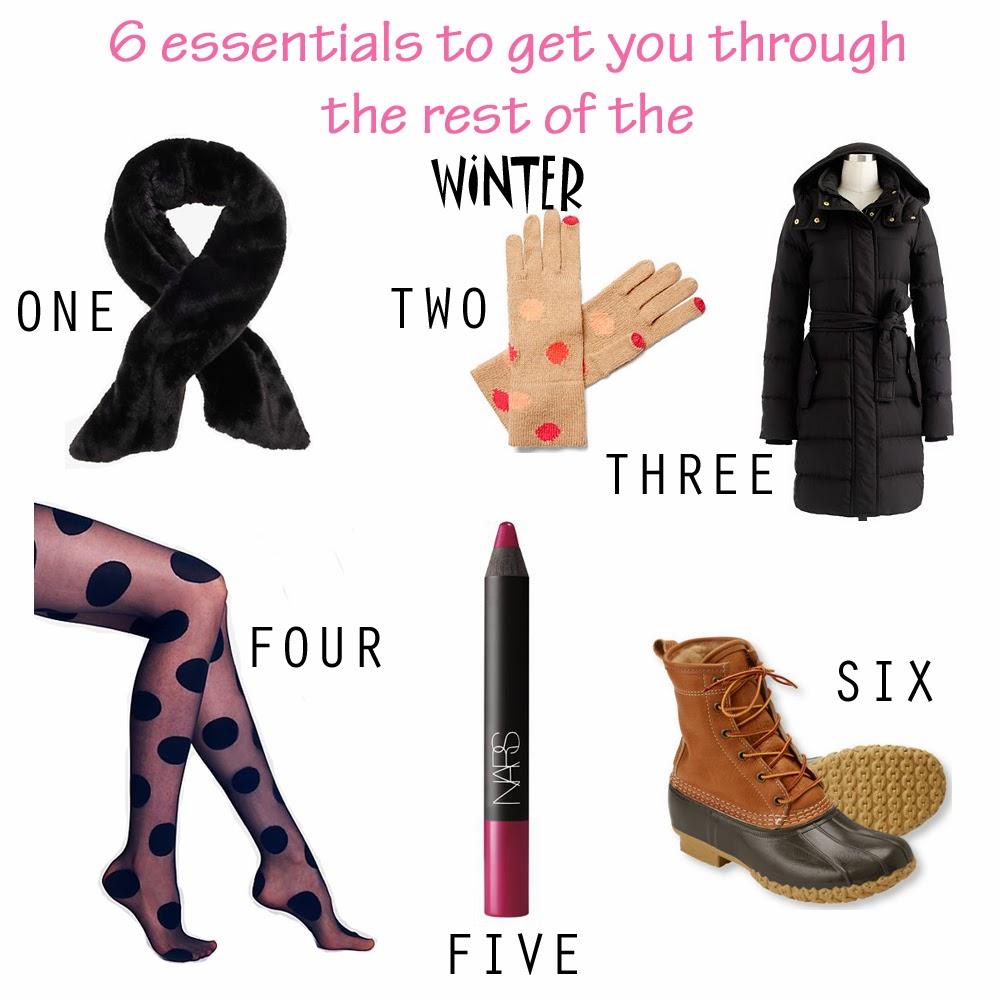 6 winter wardrobe essentials