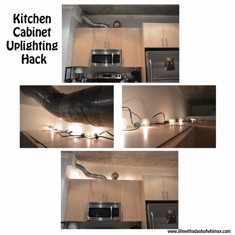 Uplighting: not just for custom built homes