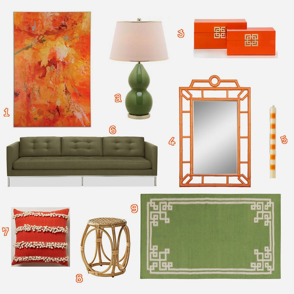 Color Combo Crush: Burnt Orange and Army Green
