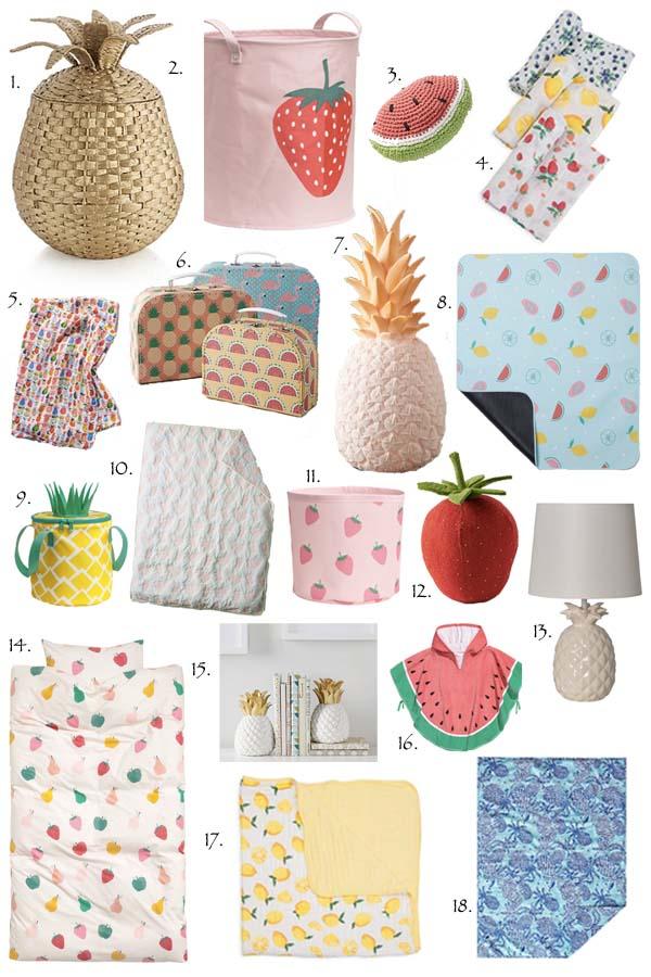 fruit accessories