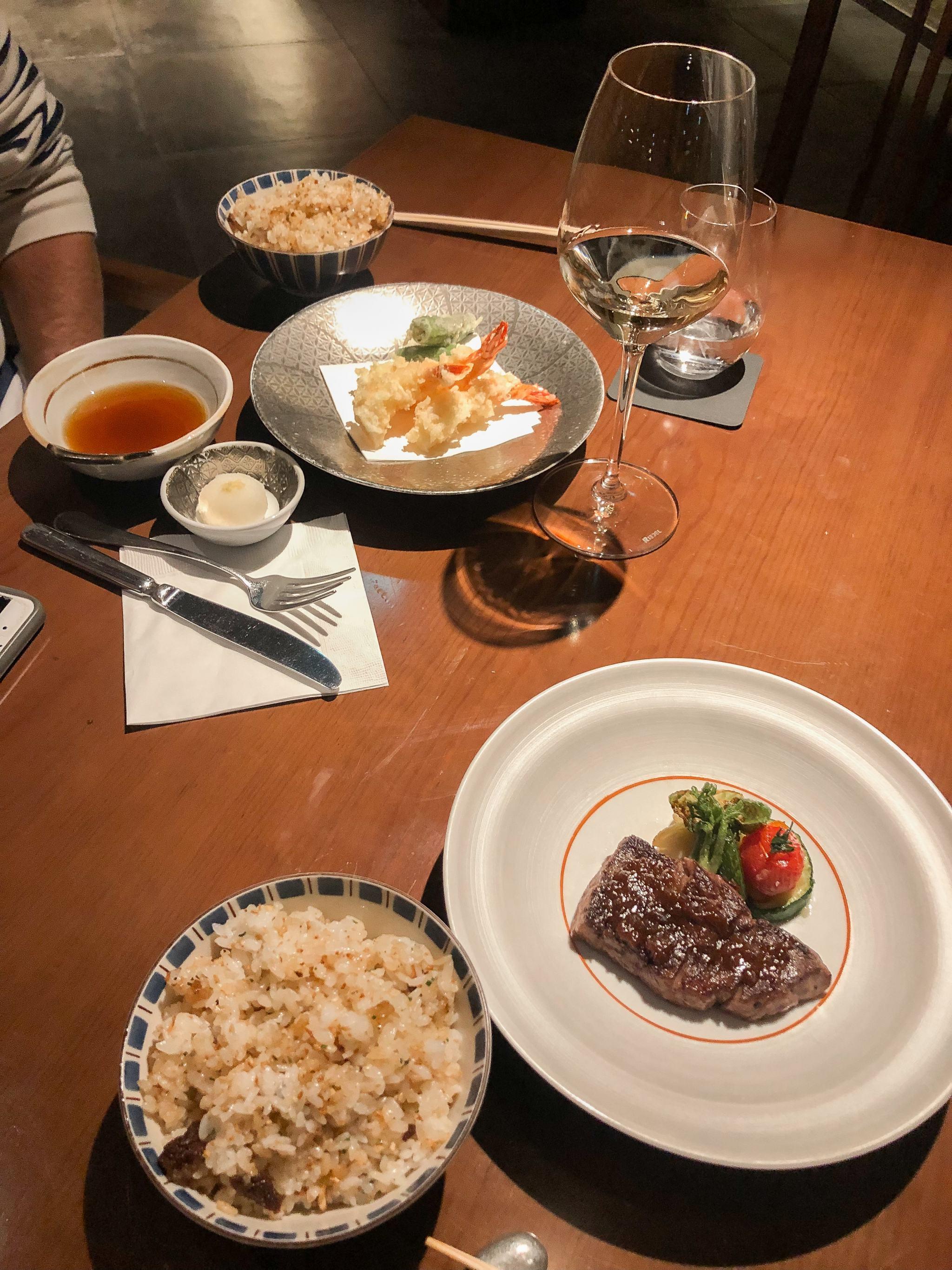 kobe beef - tokyo hilton - junisoh restaurant at tokyo hilton - upscale japanese restaurant in tokyo