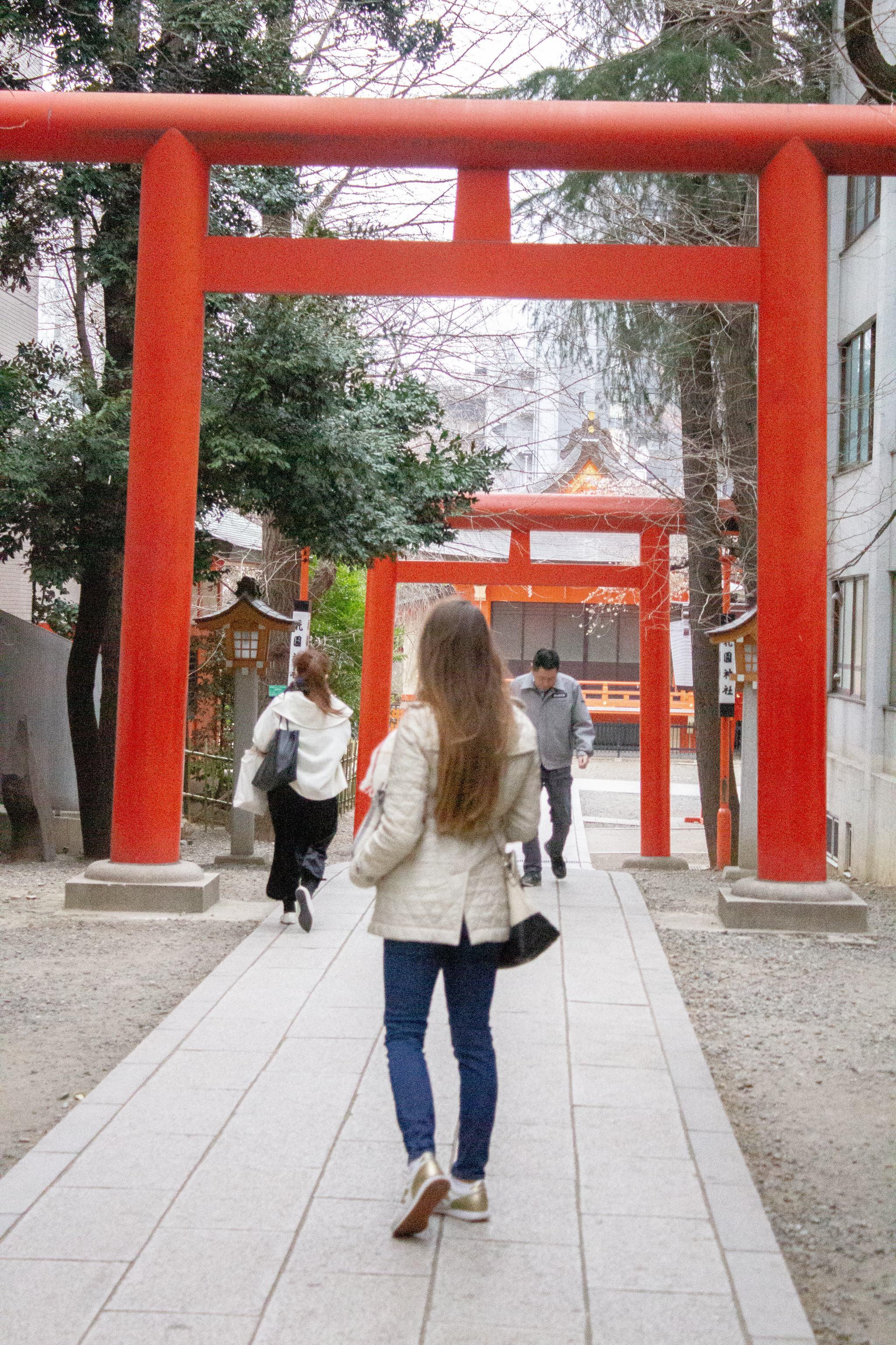 Shinjuku - Tokyo - traveling in Tokyo - what to see in Japan - shrine in Shinjuku