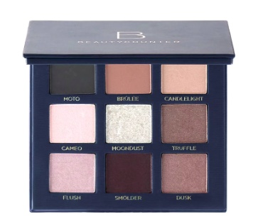beautycounter eyeshadow - velvet eyeshadow palette romantic- safer eyeshadow