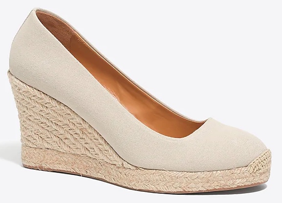 wedge espadrilles - espadrille wedges - summer wedges - summer style - canvas wedge espadrilles