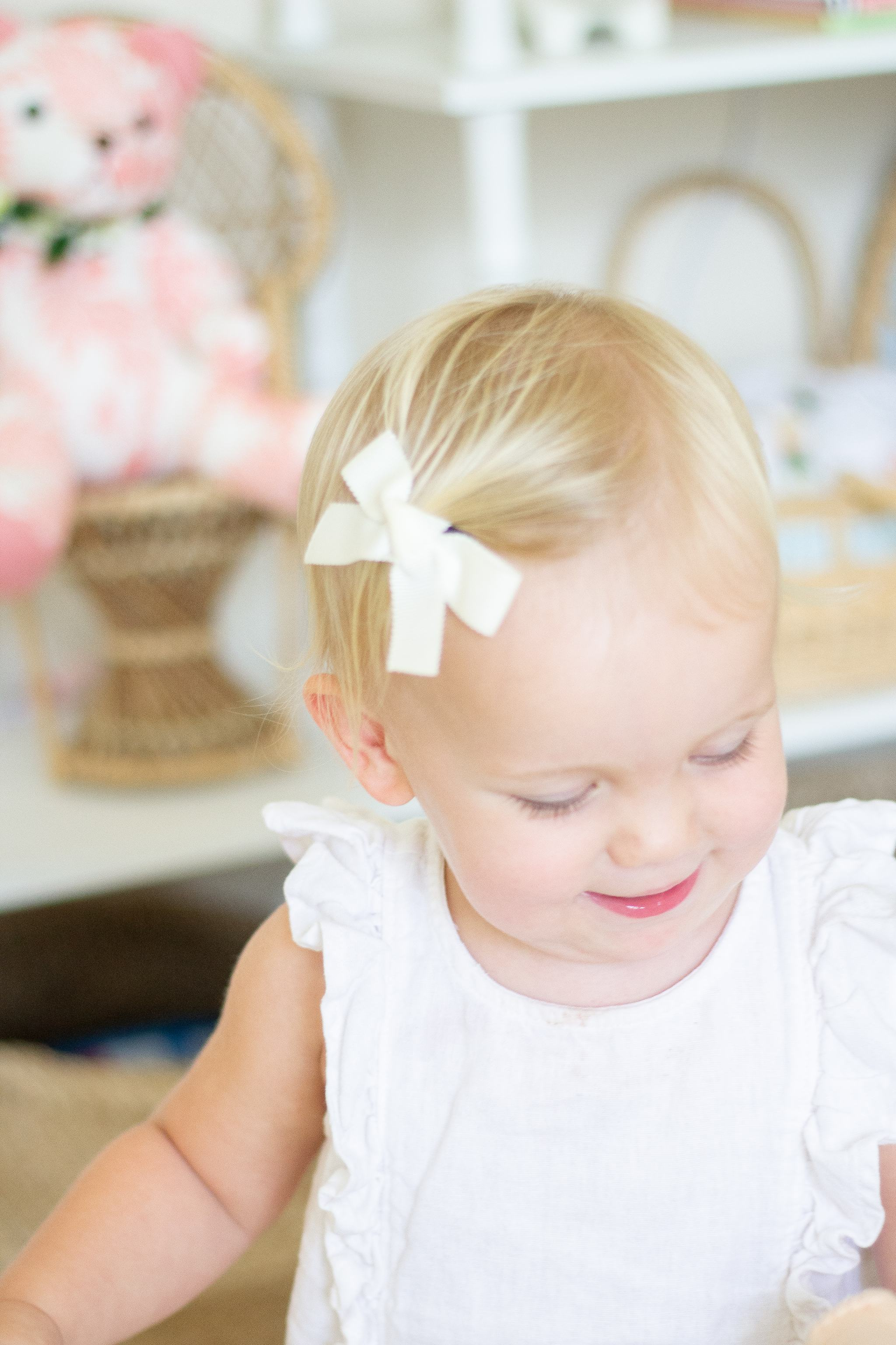 baby girl headband bows - baby girl bows - converting headband bows to clip on bows - converting baby bows