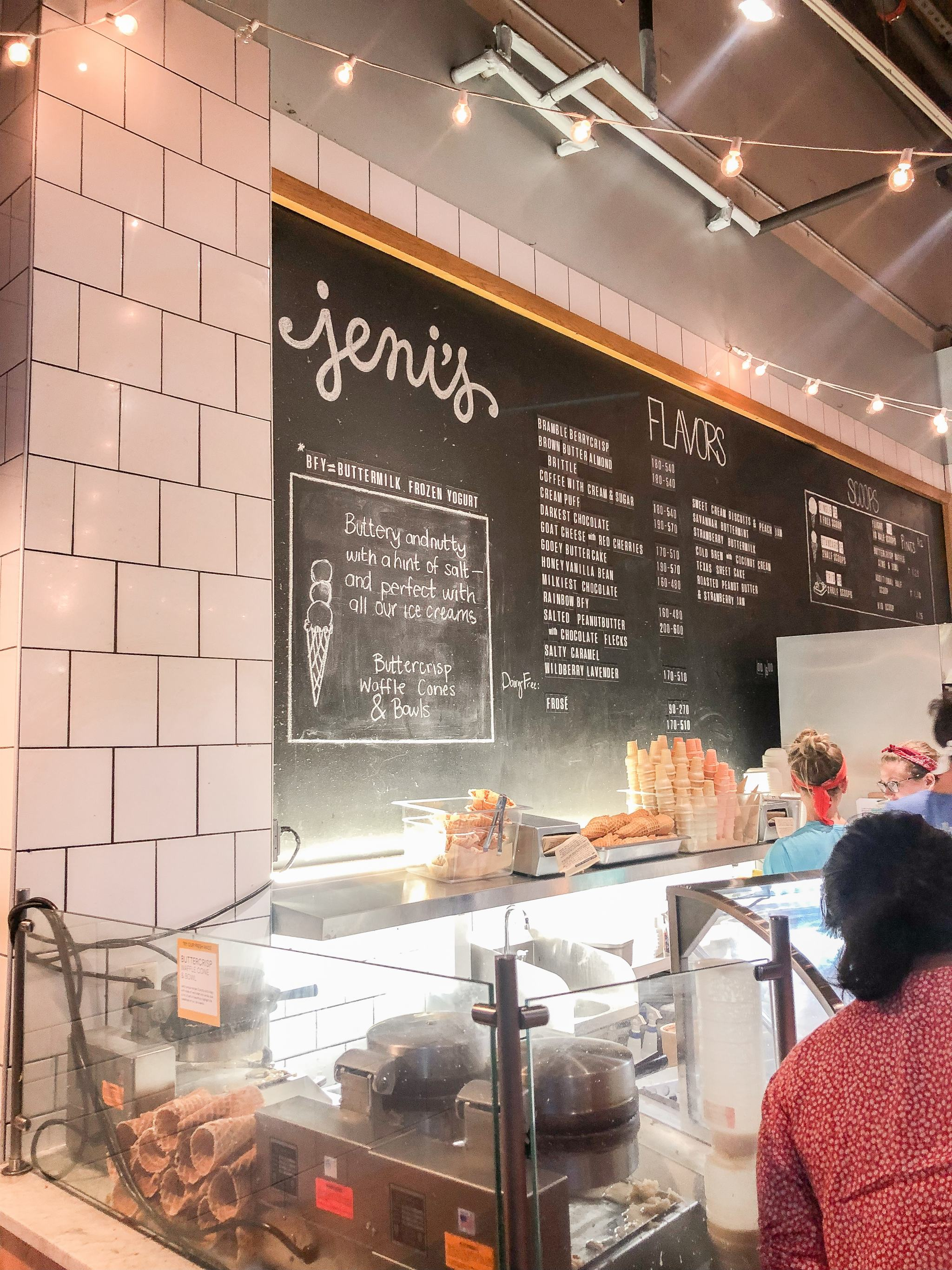 jenis ice cream charleston