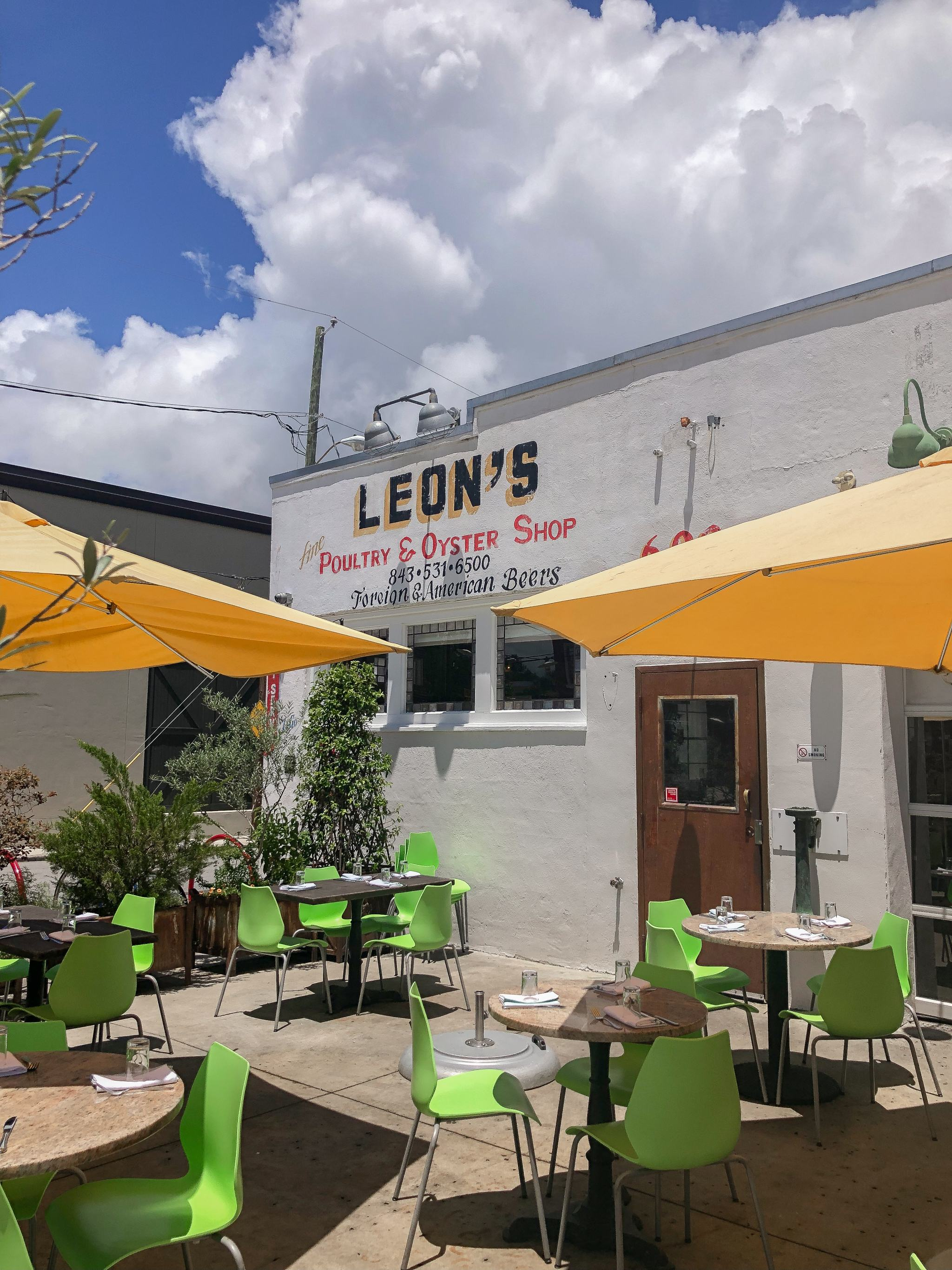 Leons Fine Poulty and Oyster Shop - Leons Oyster Charleston - best restaurants in charleston - best seafood in Charleston - seafood restaurant in charleston - king street restaurants