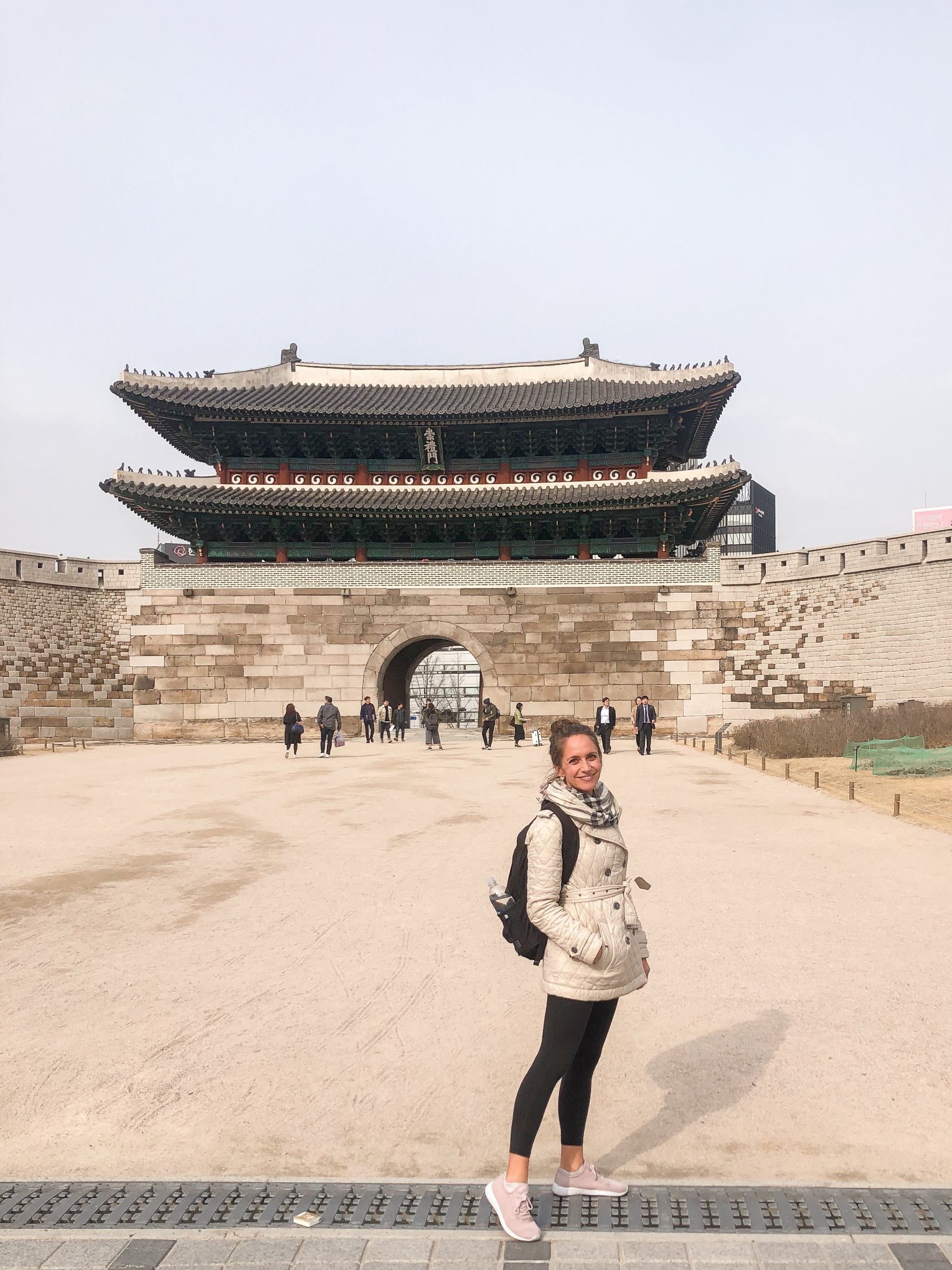 - things to do near Yongsan - things to do in Seoul - things to see in Seoul - traveling in Seoul Korea - traveling in Korea - Seoul Gate - Sungnyemun Gate