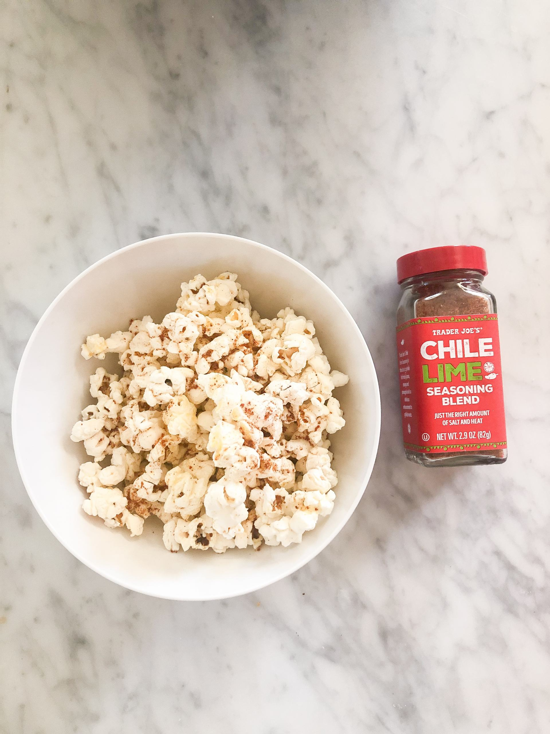 healthy snacks - healthy snack ideas - homemade popcorn with seasoning - good snack ideas - filling snacks - snacks with protein