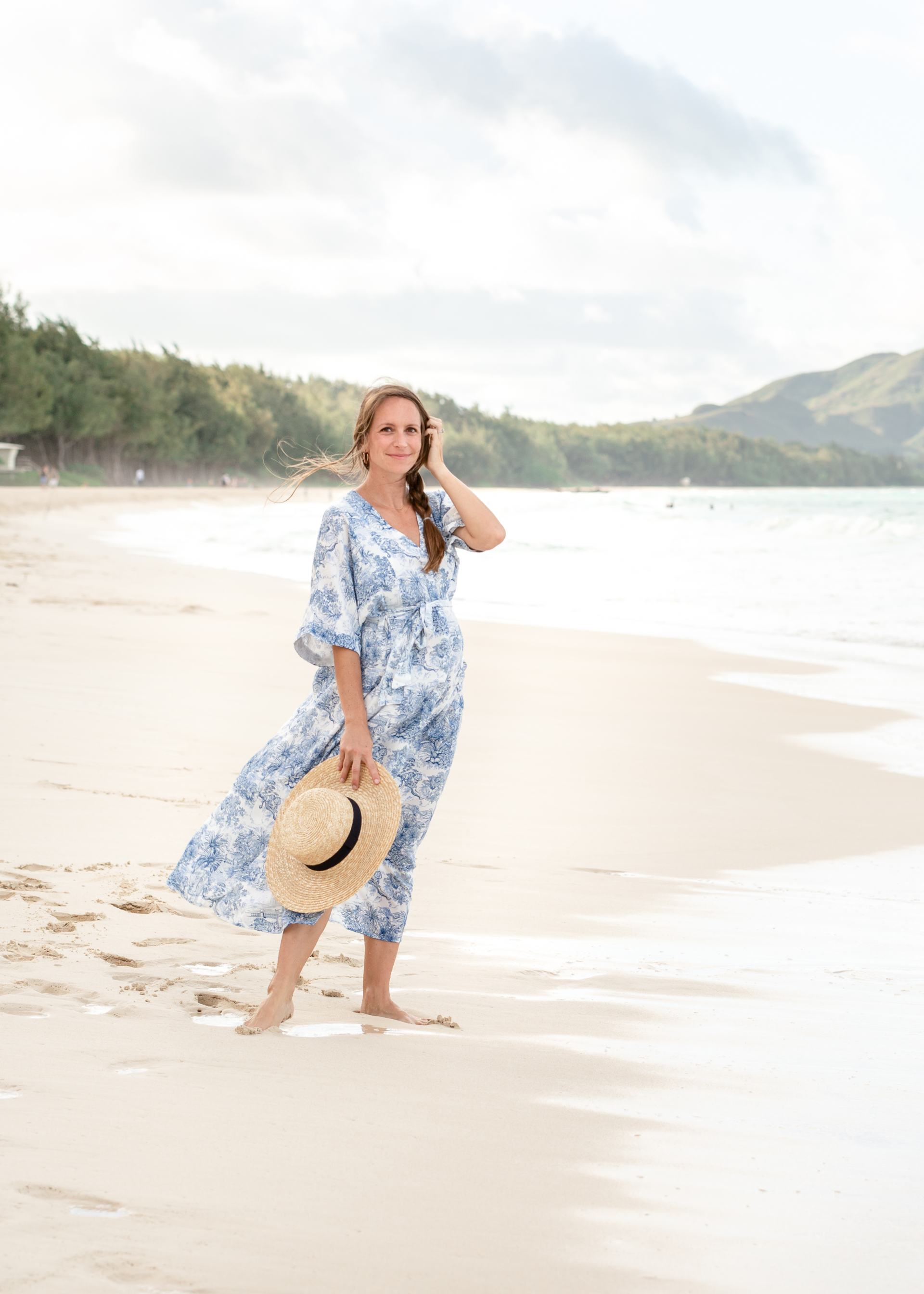 stephanieh photography - oahu photographer - maternity photos - 23 weeks pregnant - beach maternity photos - pregnancy photos - hawaii beach photos - hawaii beach photographer - blue and white dress - H&M blue and white toile dress - 23 weeks pregnant maternity photo shoot - maternity shoot - maternity photo ideas - pregnancy photo ideas - waimanalo beach - hawaii blogger - honolulu blogger - mom blogger - classic style maternity photos - 23 weeks pregnant - beach maternity photos - pregnancy photos - hawaii beach photos - hawaii beach photographer - blue and white dress - H&M blue and white toile dress - 23 weeks pregnant maternity photo shoot - maternity shoot - maternity photo ideas - pregnancy photo ideas - waimanalo beach - hawaii blogger - honolulu blogger - mom blogger - classic style