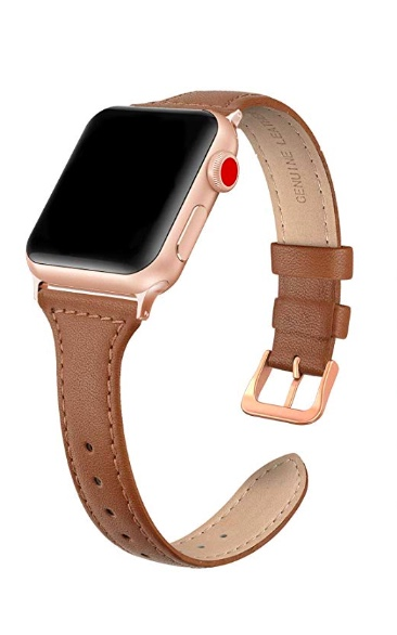 affordable apple watch band - brown leather apple watch band - amazon apple watch band - dainty leather apple watch band