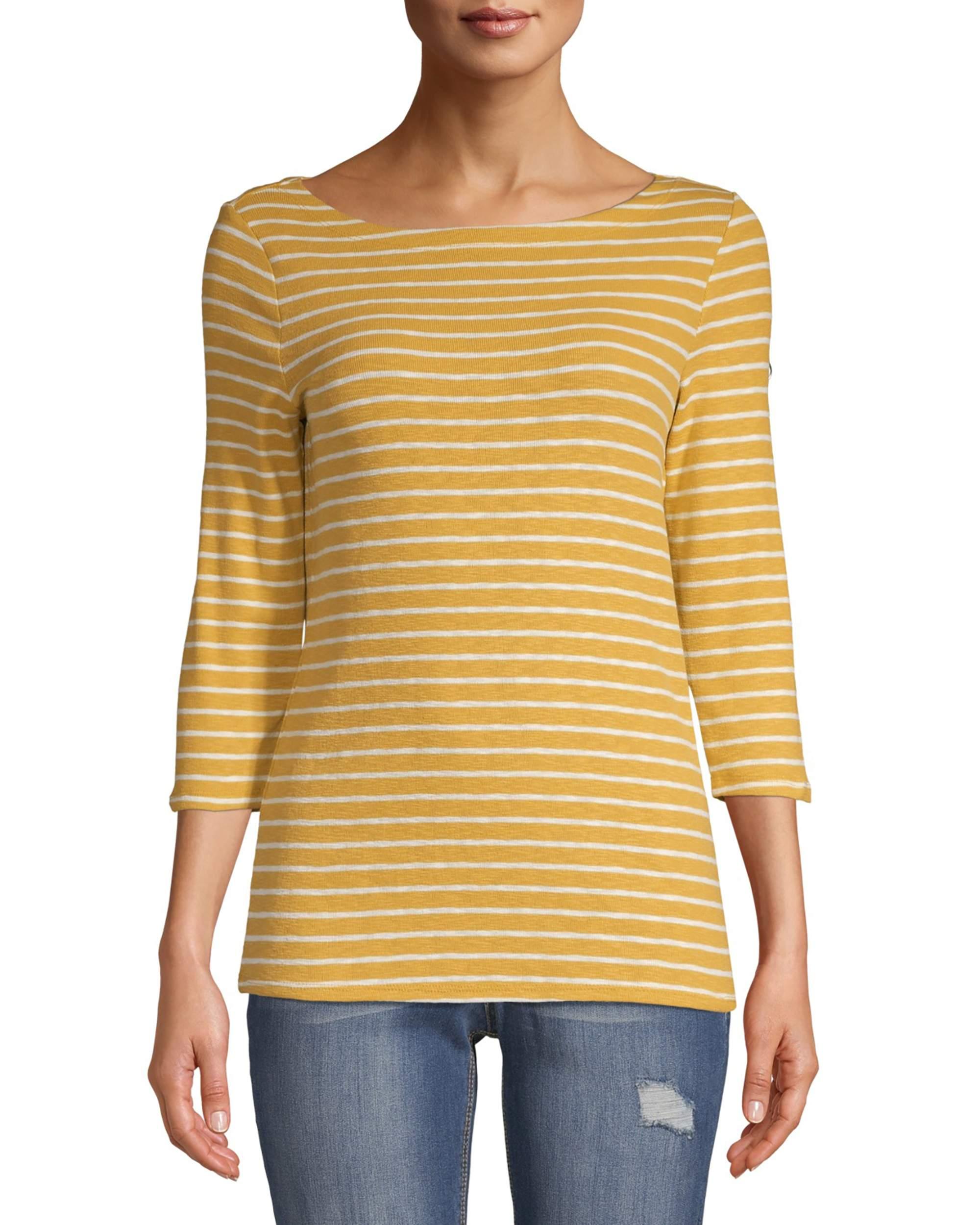striped boatneck shirt - walmart fashion - walmart style - cute walmart clothes - affordable fall clothing - striped boatneck tshirt