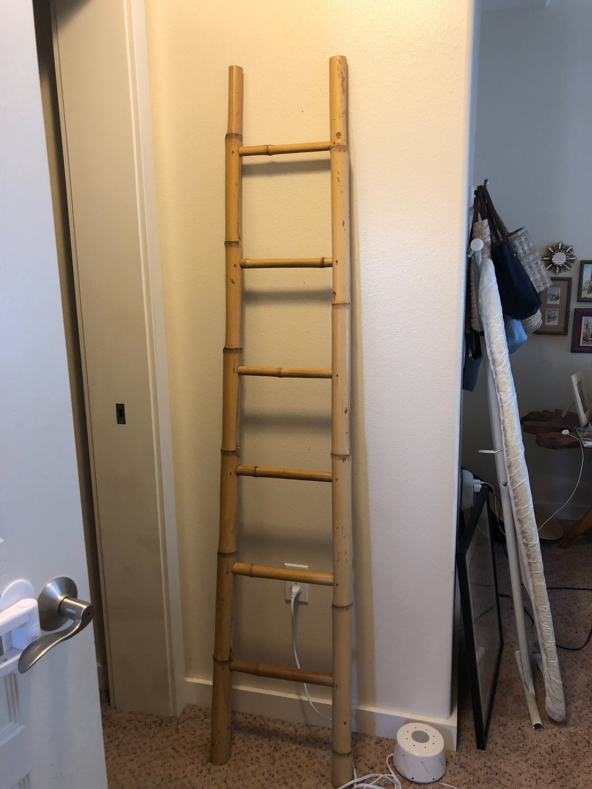 bamboo ladder DIY