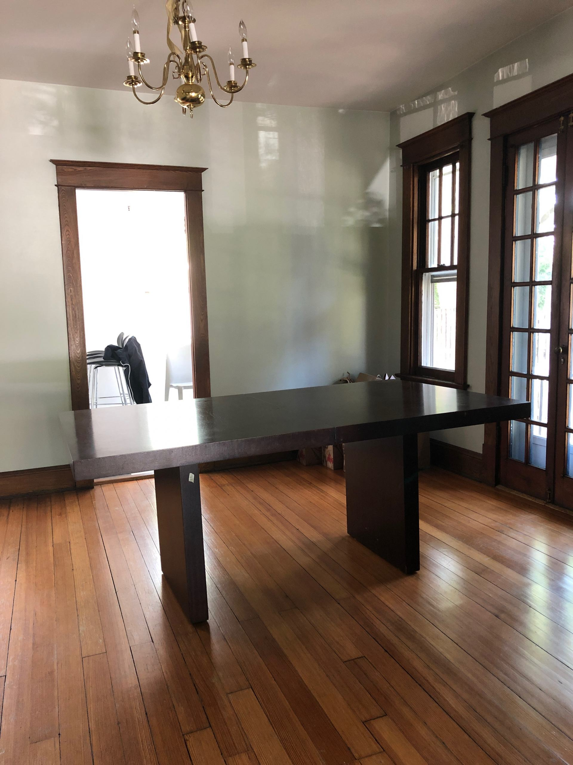 craftsman home dining room