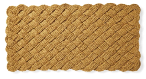large sailors knot doormat