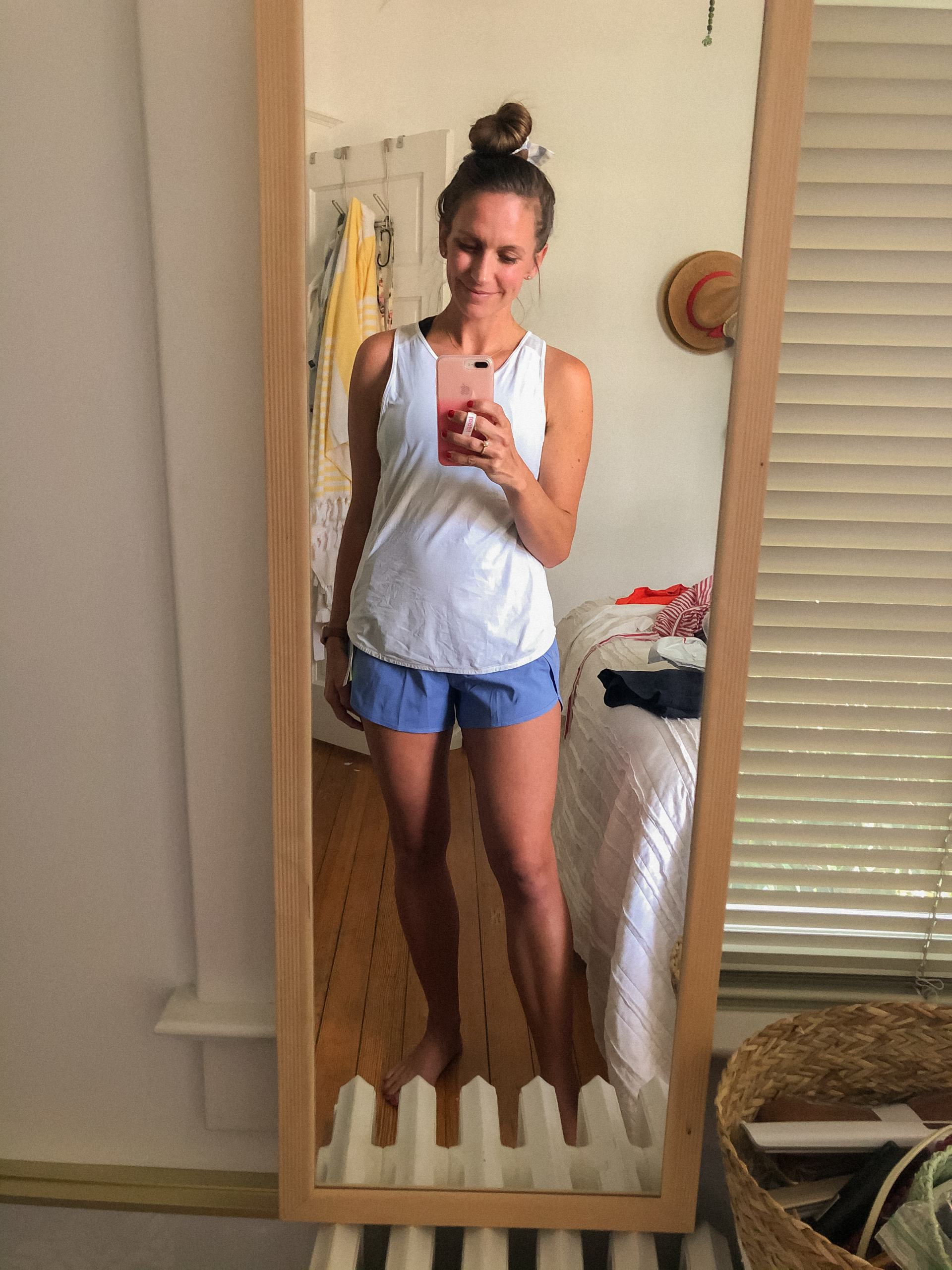 affordable high rise running shorts