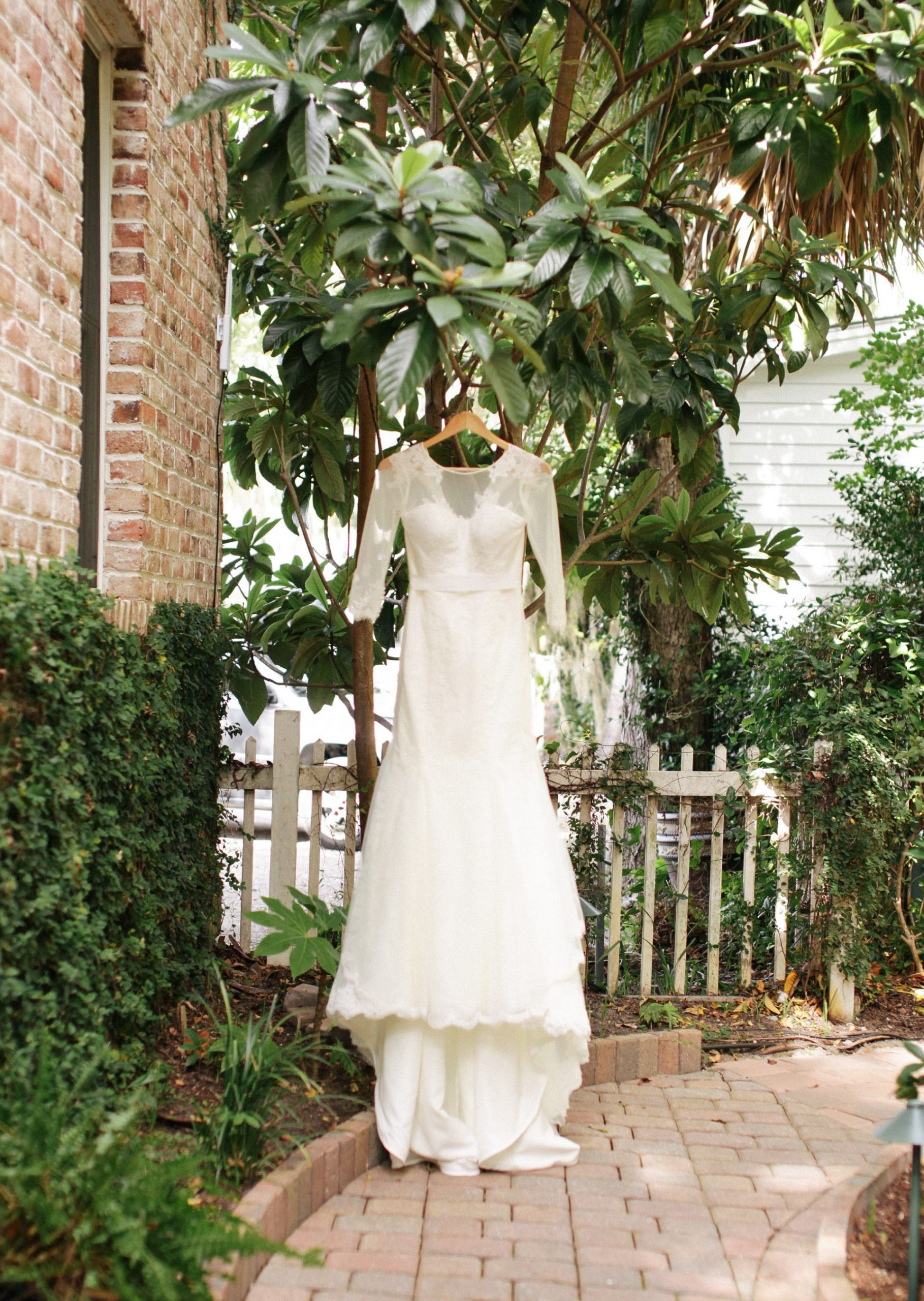 lowcountry wedding dress with sleeves