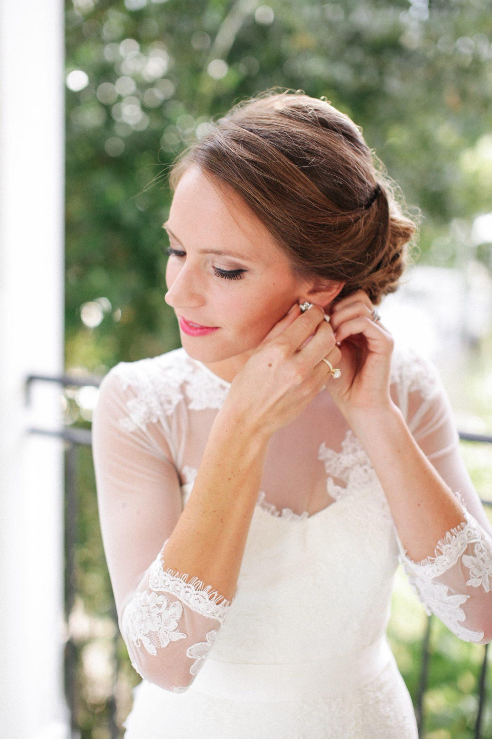 bridal photos before wedding