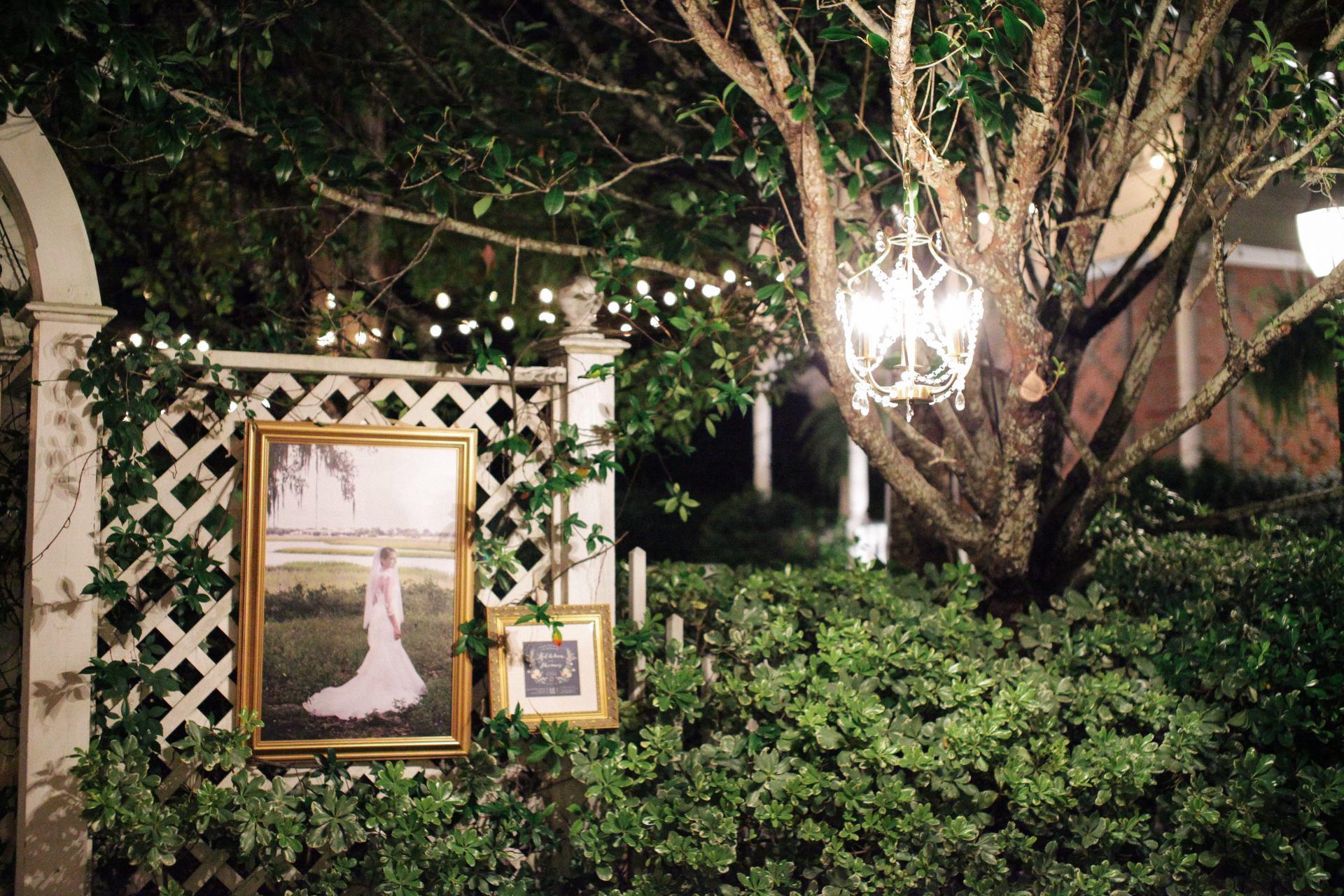 bridal photo at wedding