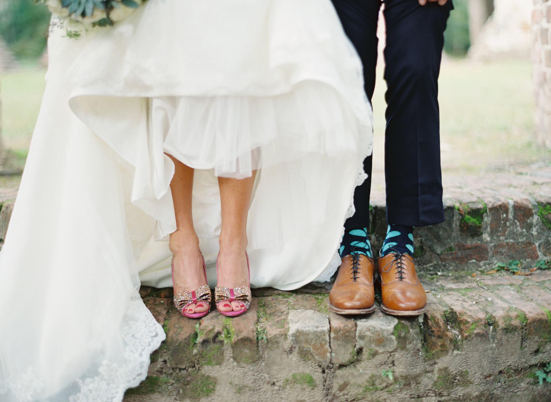 fun shoes wedding