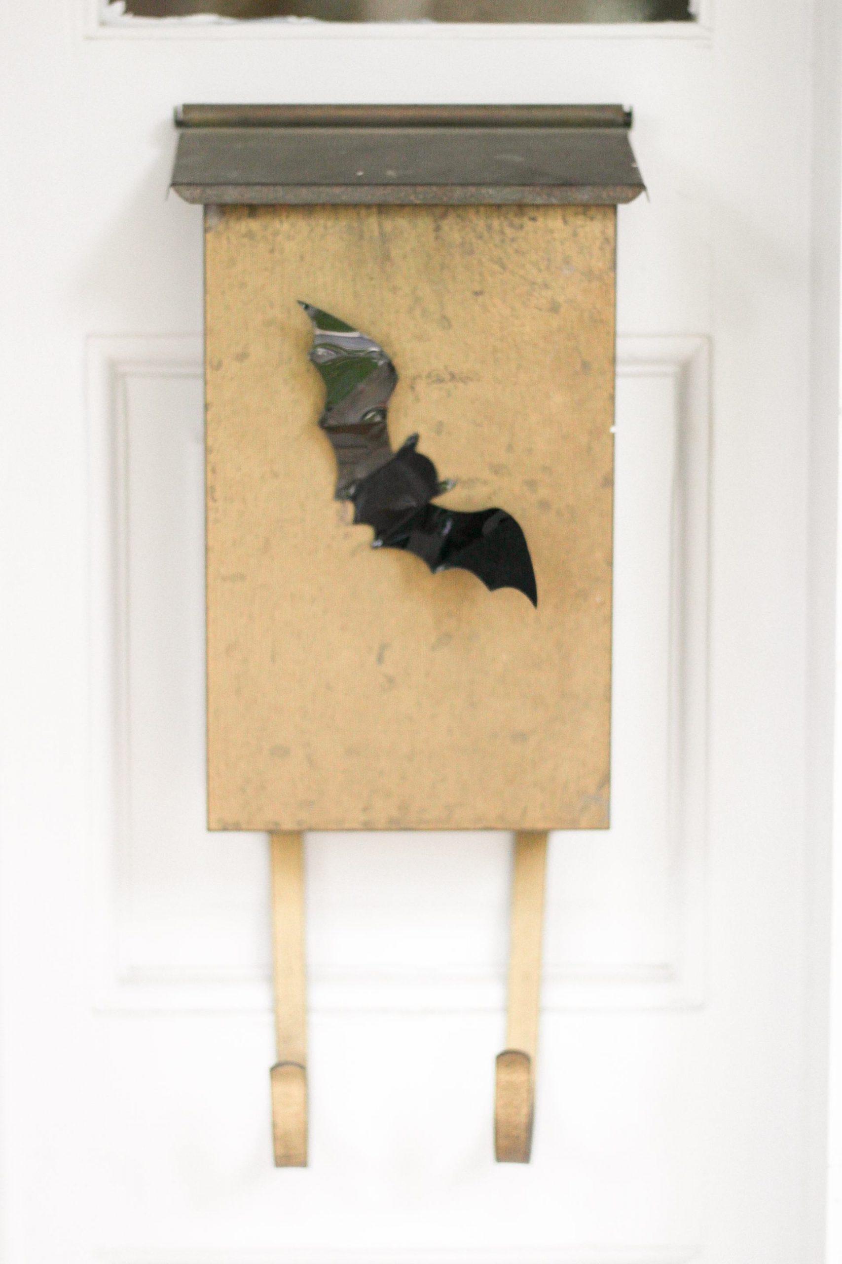 sticky bats halloween decorations