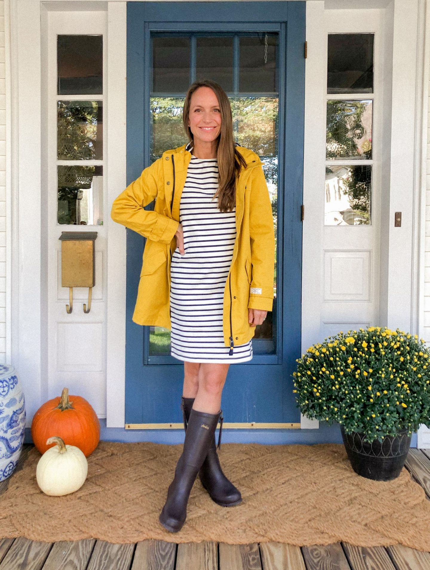 Right as Rain – 5 Ways to Wear a Yellow Rain Jacket