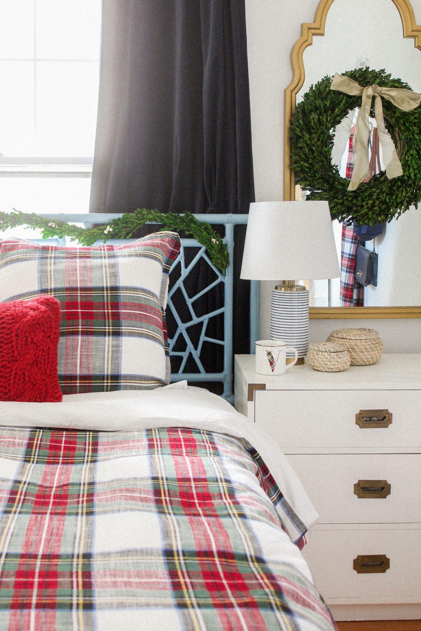 Tartan Tidings and Festive Bedding