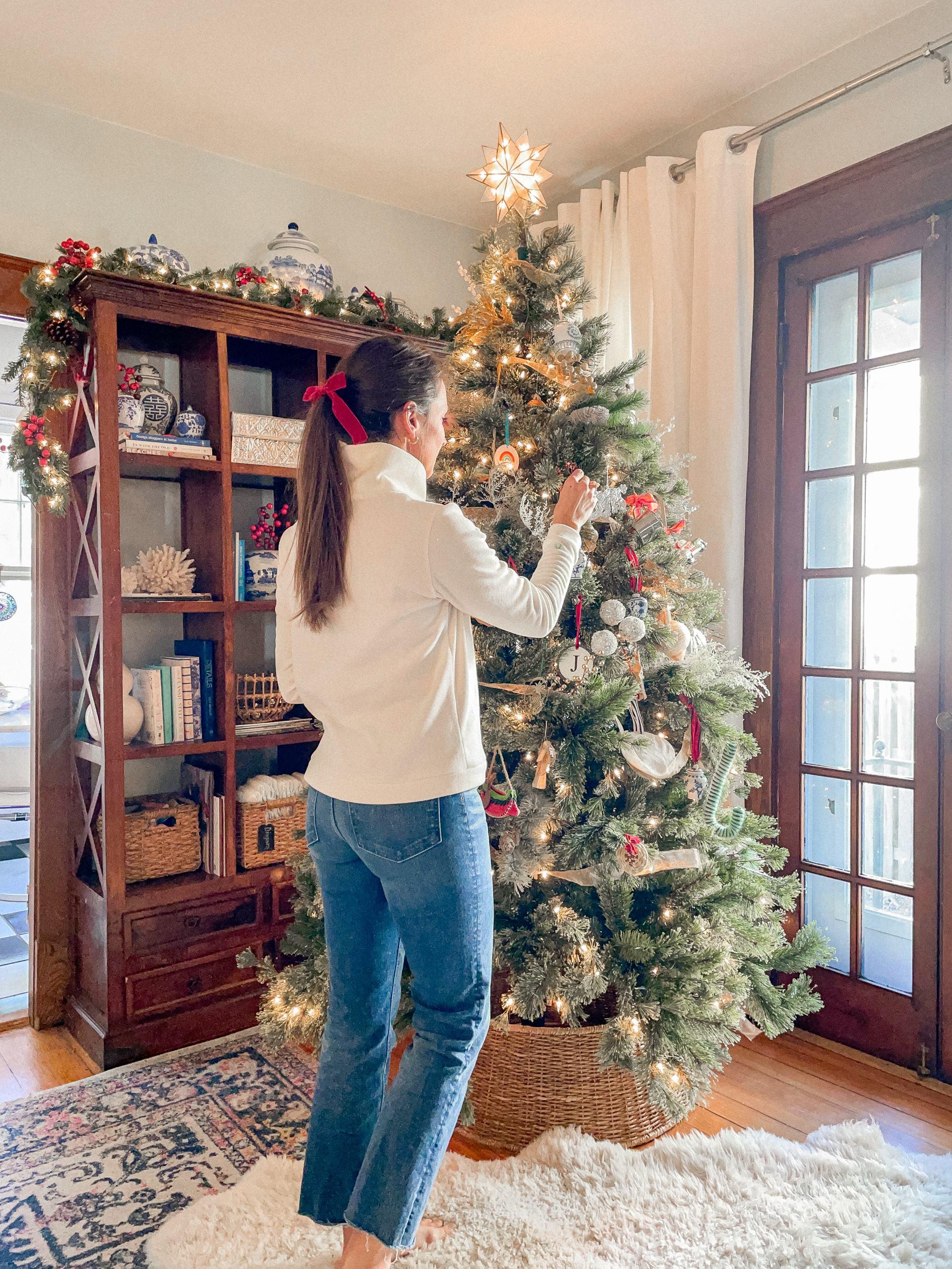 christmas tree with dudley stephens fleece