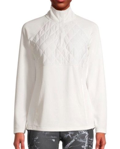 avia quilted pullover