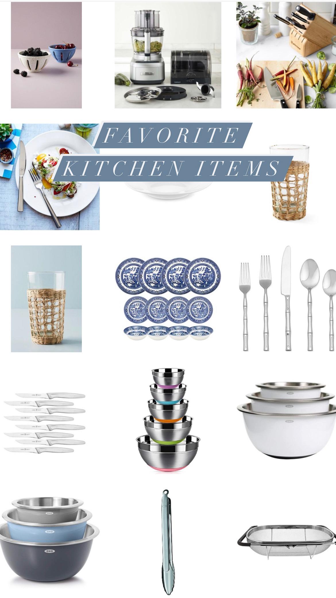 favorite kitchen items