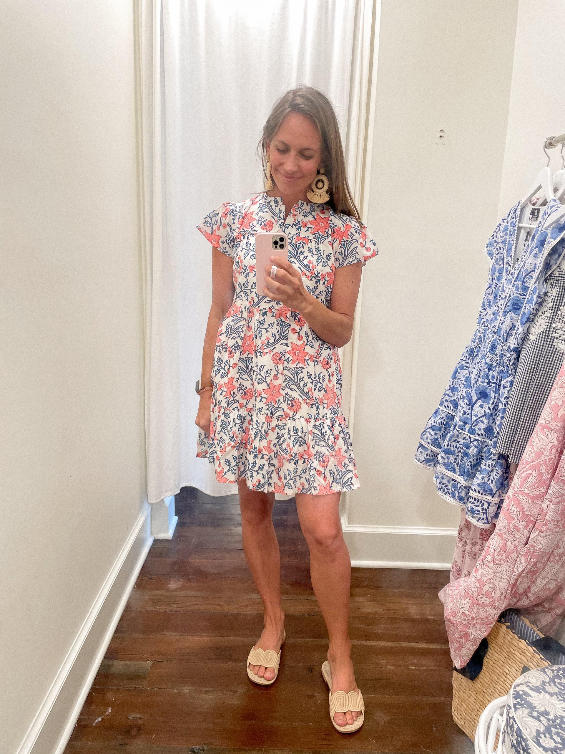 Folly mini short sleeve dress