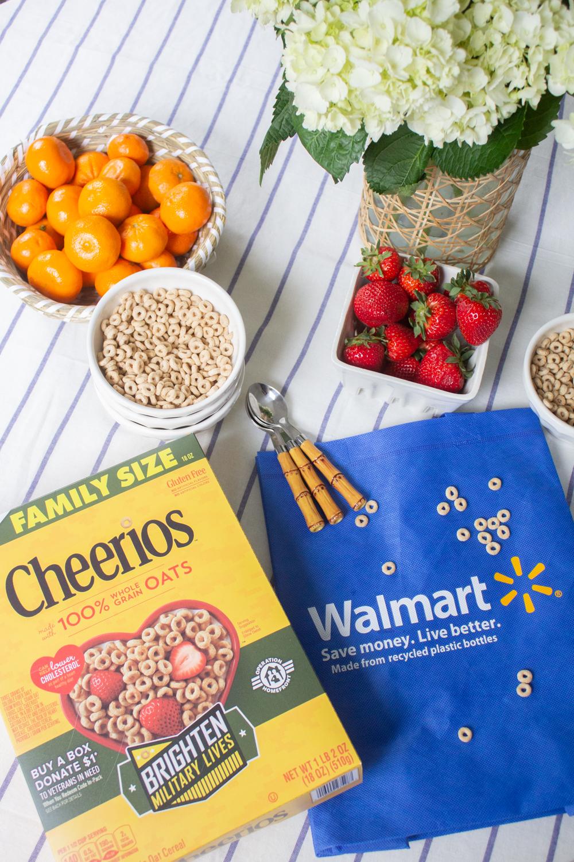 cheerios + operation homefront at walmart