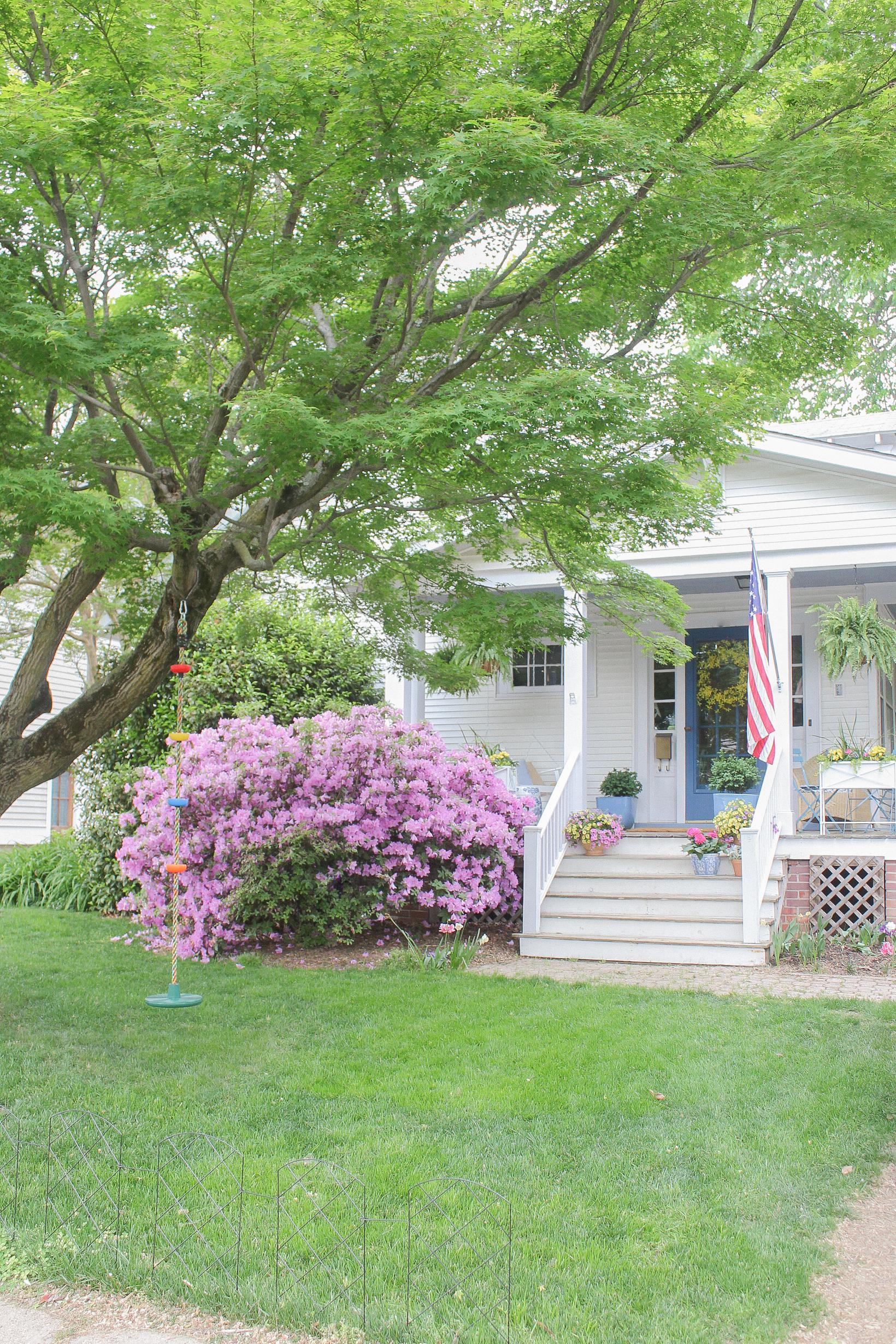 craftsman bungalow porch