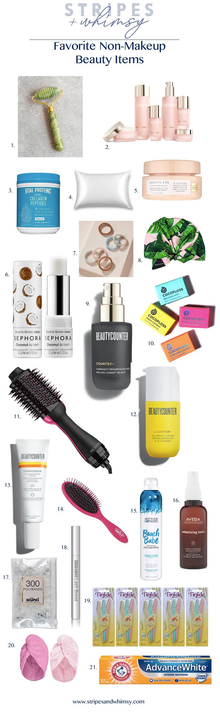 favorite beauty items