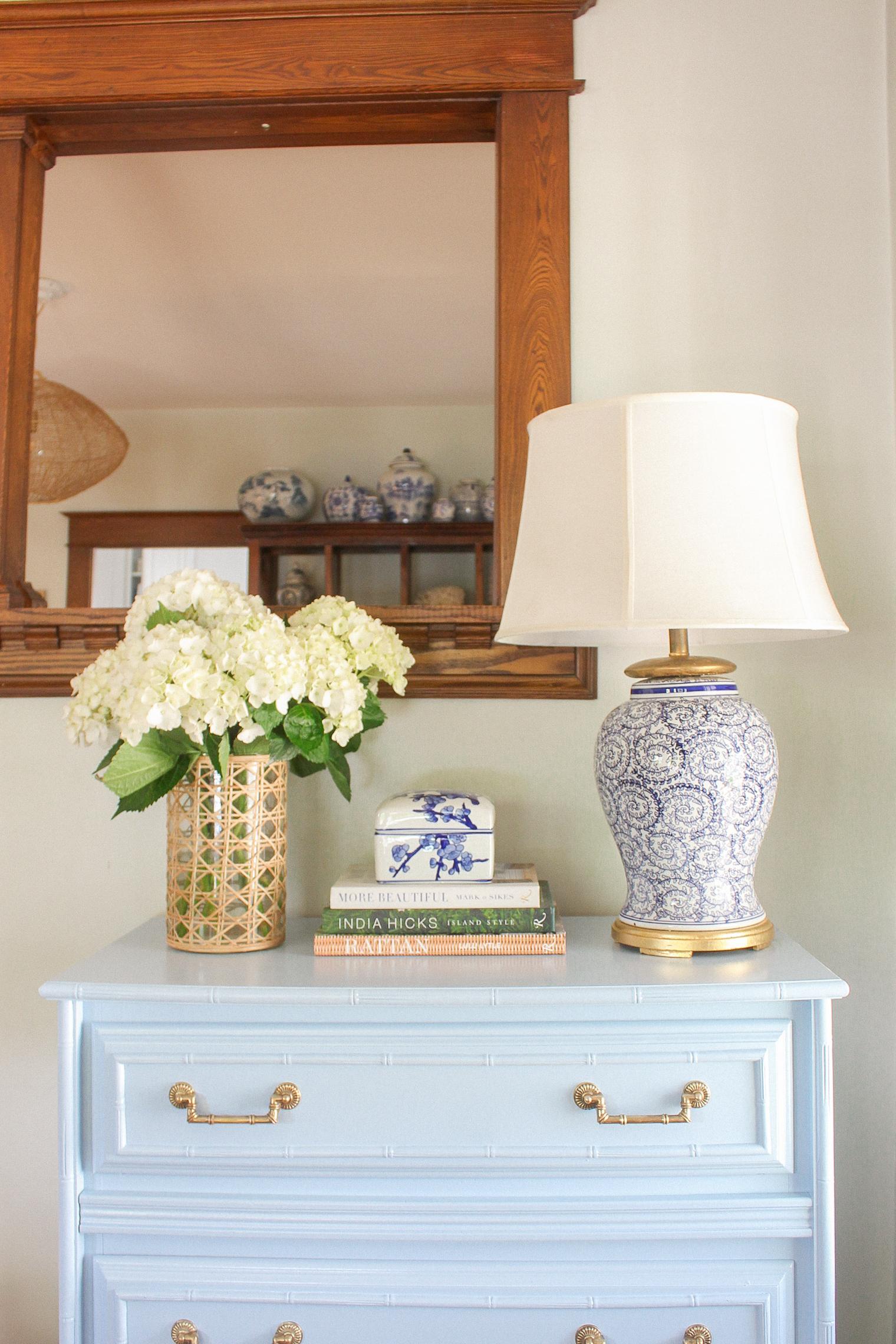 benjamin moore painted furniture