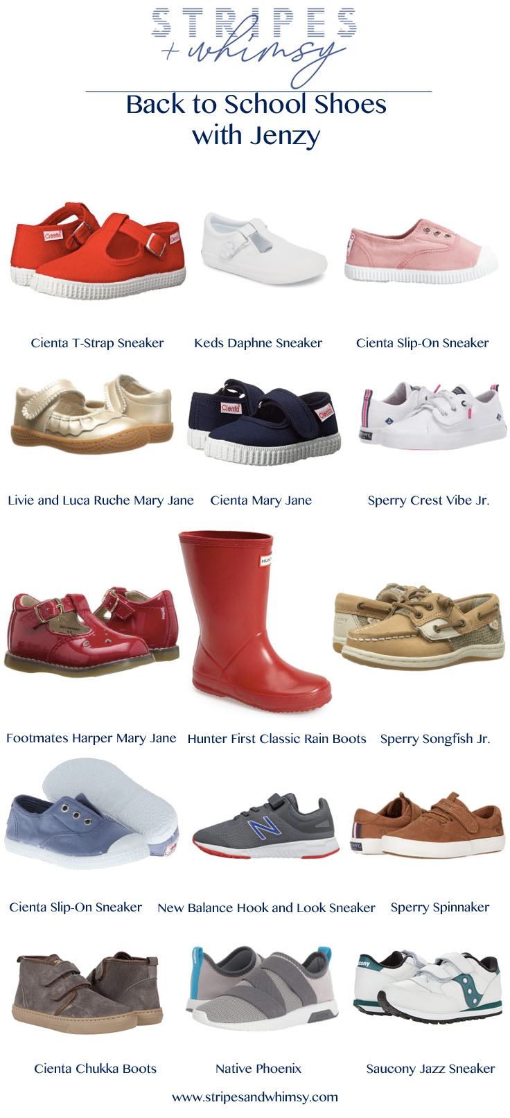 back to school shoes - jenzy - toddler shoes - cute kids shoes