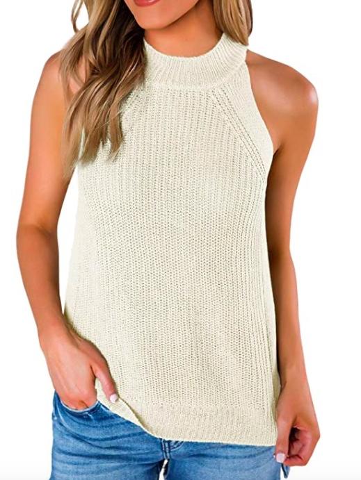 amazon khaki sweater blazer