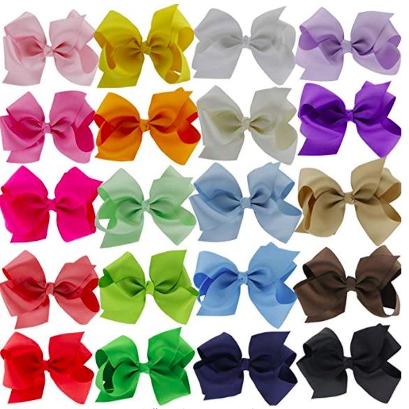 affordable girls hair bows