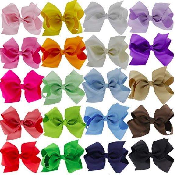 amazon girls hair bows