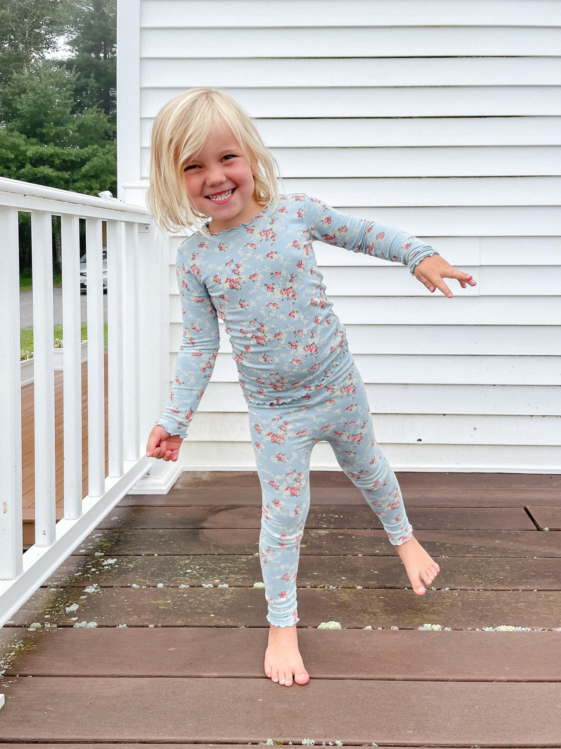 soft kids pajamas